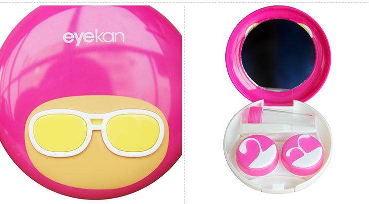 凯达隐形眼镜伴侣盒-时尚的发型A8079