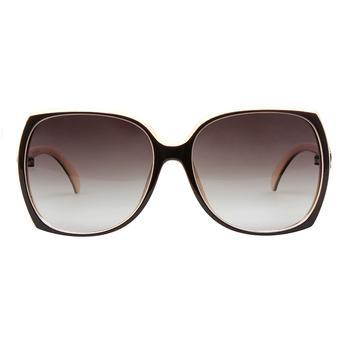 詩維達深咖乳白全框時尚板材偏光太陽鏡12062/158-P16