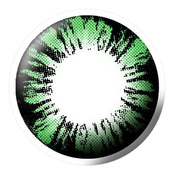 Q-MIX闪凝美妆彩片-绿
