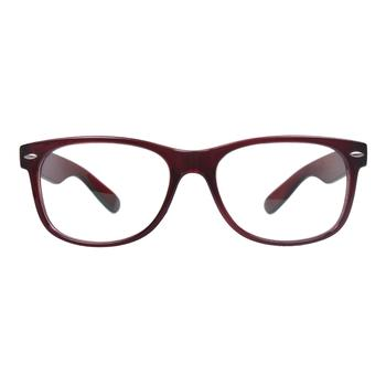 VisionWork 維真沃格紅色全框板材時尚框架5530