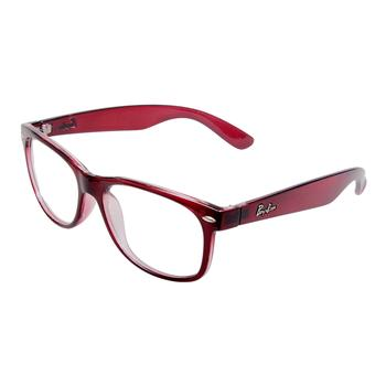VisionWork 维真沃格红色全框板材时尚框架5530
