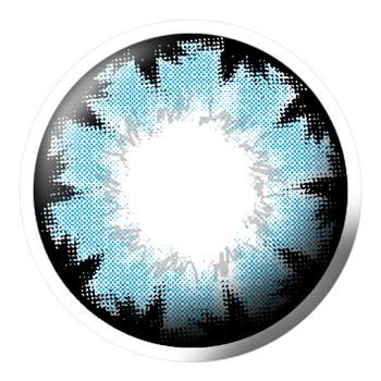 Q-MIX混血精灵美妆彩片-蓝
