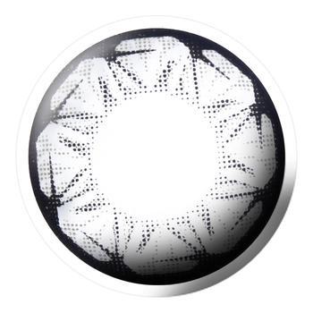 Bescon星钻系列美瞳彩色隐形眼镜1片装-半年抛-灰色
