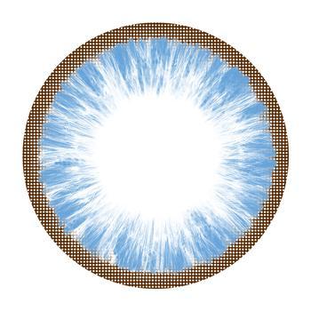 MIKO美瞳彩色隐形眼镜-年抛-清新蓝