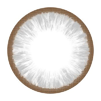 MIKO 美瞳彩色隐形眼镜-年抛-自然灰