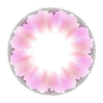 美睛尊品Mori Girl美瞳彩色隐形眼镜-年抛-花漾紫