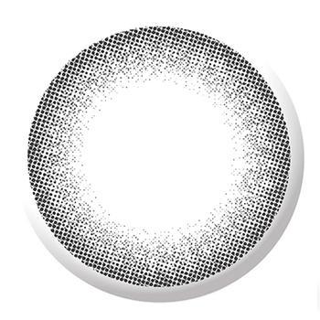 海昌美瞳隐形近视眼镜大小直径Happy Go半年抛1片-灰色
